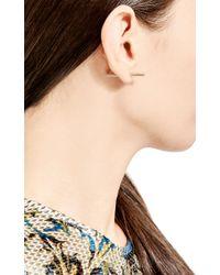 Sehti Na - Metallic 14K Gold And Diamond Threaded Earring - Lyst