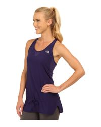 The North Face | Purple Gtd Woven Tank Top | Lyst