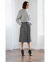 Karen Millen Multicolor Tweed Culotte