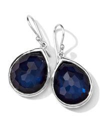 Ippolita - Blue Wonderland Quartz/pyrite Teardrop Earrings - Lyst