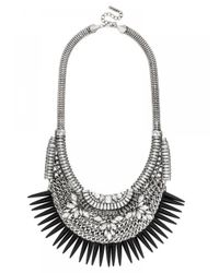 BaubleBar | Black Barracuda Bib | Lyst