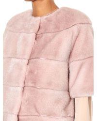 Max Mara Pink Maya Jacket