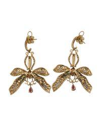 Wendy Yue - Metallic Opal Dragonfly Earrings - Lyst