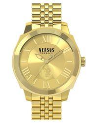 Versus - Metallic 'chelsea' Bracelet Watch - Lyst