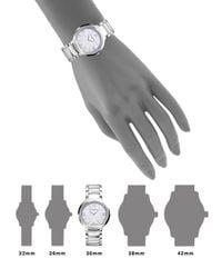 Baume & Mercier - Metallic Promesse 10160 Stainless Steel Bracelet Watch - Lyst
