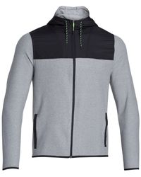 Under Armour | Gray Men's Coldgear® Infrared Survival Fleece Full-zip Hoodie for Men | Lyst