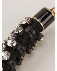 Isabel Marant - Black Embellished Necklace - Lyst