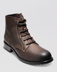 Cole Haan Brown Wayne Lug Boots for men