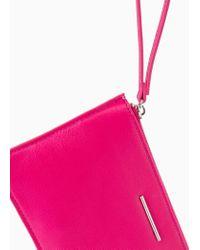 Mango Pink Wristlet Cosmetic Bag