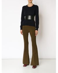 Marni - Green Flared Pants - Lyst