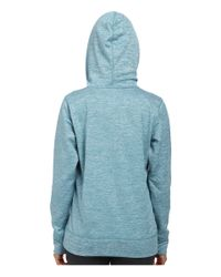 Under Armour | Blue Ua Storm Armour® Fleece Big Logo Twist Hoodie | Lyst