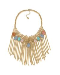 Carolee | Metallic Caspian Sea Semi-Precious Statement Necklace | Lyst