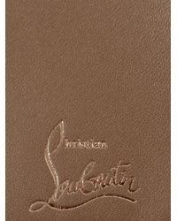 Christian Louboutin - Brown Paros Leather Bifold Wallet for Men - Lyst