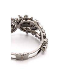 Elizabeth Cole - Metallic Wheeler Hinge Bracelet - Lyst