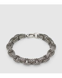 Gucci | Metallic Diamantissima Bracelet for Men | Lyst