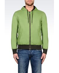 Armani Jeans | Green Hoodie for Men | Lyst