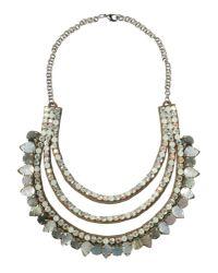 Deepa Gurnani - Gray Necklace - Lyst
