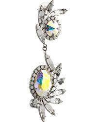 DANNIJO Metallic Avril Crystal Earrings