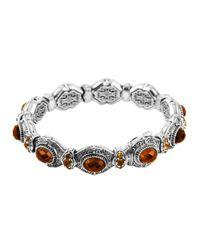 Konstantino - Metallic 'hebe' Link Toggle Bracelet - Lyst