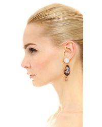Holst + Lee | Multicolor Taj Mahal Earrings - Gold/multi | Lyst