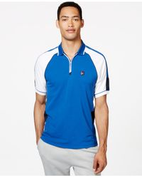 Tommy Hilfiger | Blue Irvine Colorblocked Athletic Polo for Men | Lyst