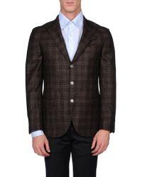 Brunello Cucinelli | Brown Blazer for Men | Lyst