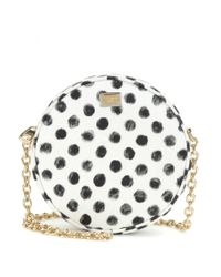 Dolce & Gabbana - Black Glam Printed Shoulder Bag - Lyst
