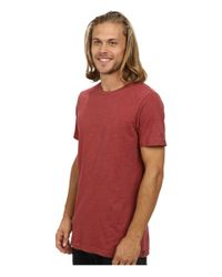 Volcom - Red Heather S/s Tee for Men - Lyst