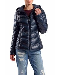 Dawn Levy | Blue Hooded Zip Jacket | Lyst