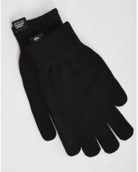 Cheap Monday | Cm Magic Gloves Black for Men | Lyst