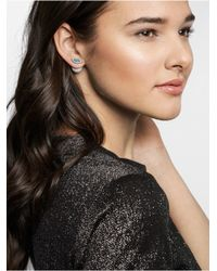 BaubleBar - White Baby Blues 360 Studs - Lyst