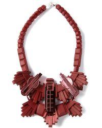 EK Thongprasert - Red Armour Necklace - Lyst