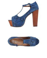 Jeffrey Campbell - Blue Sandals - Lyst