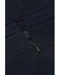 HUGO | Blue Viscose-blend Skirt: 'rajka' | Lyst
