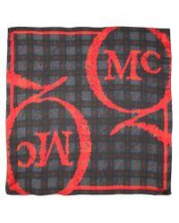 McQ - Black Printed Scarf - Lyst