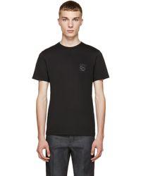 Loewe Black Anagram T_shirt for men