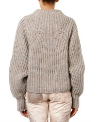 Isabel Marant - Natural Newt Chunkyknit Sweater - Lyst