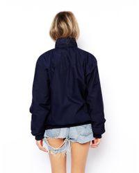 ASOS - Blue Reclaimed Vintage Harrington Jacket - Lyst
