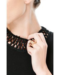 Fd Gallery | Multicolor Vintage Ruby Gold and Diamond Ring Watch By Van Cleef Arpels | Lyst