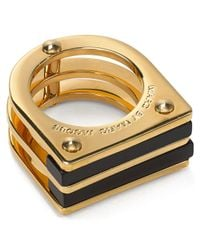 Marc By Marc Jacobs - Black Windows Ring - Lyst