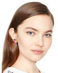 kate spade new york | Multicolor Shine On Bauble Drop Earrings | Lyst
