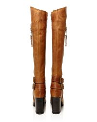 Moda In Pelle Brown Idah Medium Casual Long Boots