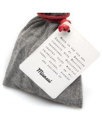 Miansai | Black Leather Gold Hook Bracelet for Men | Lyst