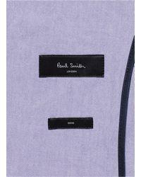 Paul Smith - Blue 'Soho' Cotton Blazer for Men - Lyst
