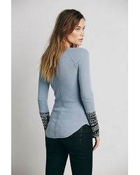 Free People - Blue We The Free Womens We The Free Alpine Cuff - Lyst