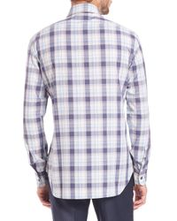 Brioni - Multicolor Big Plaid Sportshirt for Men - Lyst