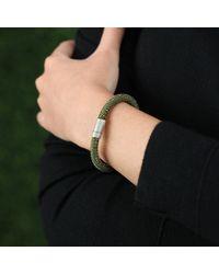 Carolina Bucci - Dark Green Twister Band Bracelet - Lyst