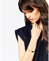 ASOS | Metallic Circles Open Cuff Bracelet | Lyst