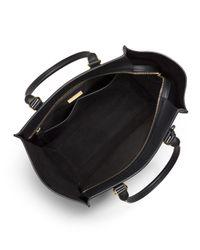Michael Kors - Green Gracie Large Colorblock Calf Tote Bag - Lyst