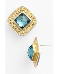Anna Beck Blue 'gili' Stud Earrings